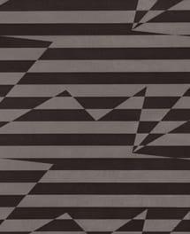 Tapete Stripey Zig Zag Birds Noir