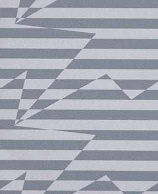 Tapete Stripey Zig Zag Birds Steel