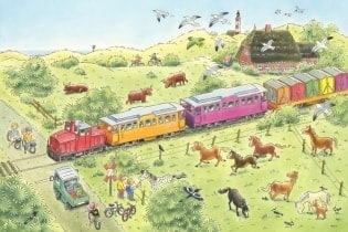 Tapete Train