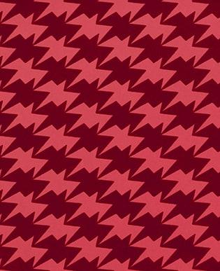 Tapete Zig Zag Birds Lava