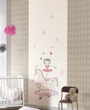 Wandbild Fynn Rosa