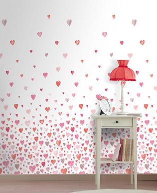 Wandbild Heart Rot