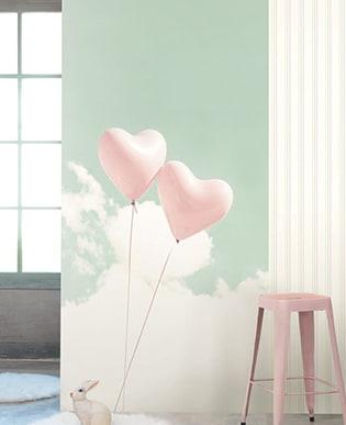 Wandbild Luftballon